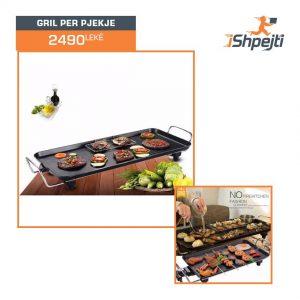 Electric baking tray - Gril per pjekje