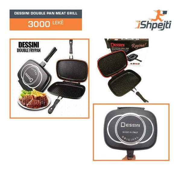 DESSINI DOUBLE PAN MEAT GRILL