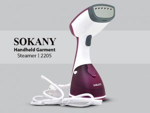 Sokany Garment Steamer: Hekur per rroba me avull Sokany