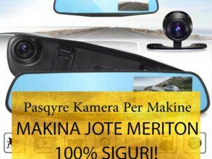 Pasqyrë me Kamera Për Makinë