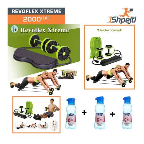Revoflex Xtreme & 3 Shishe Ujë C-Fit