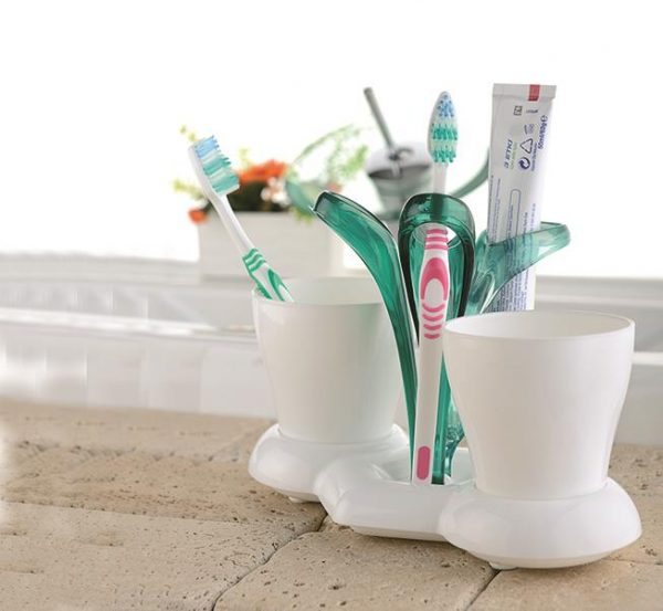 Mbajtëse e Dyfishtë Për Furcat e Dhëmbëve