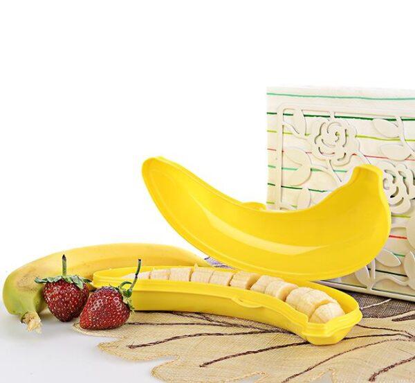 Kuti Ushqimi Ne Forme Bananeje Titiz Plastik AP-9163