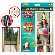 Perde Magnetike Magic Mesh
